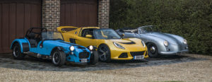 The trio of cars owned by Automotive Photographer, GFWilliams