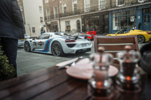 Porsche 918 in London shot by Automotive Photographer GFWilliams